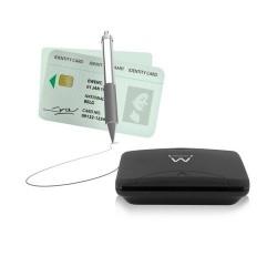 Ewent Lector de tarjetas inteligentes/DNI, USB 2.0