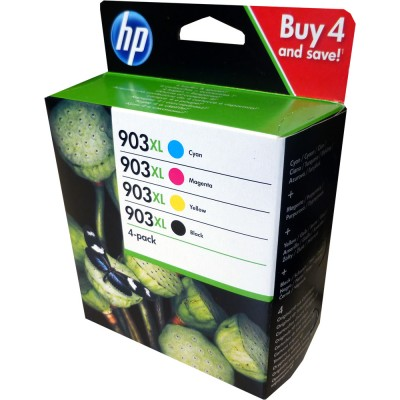 HP 903XL Pack 4 colores