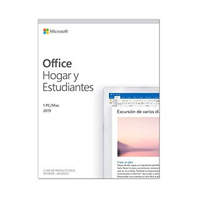 Microsoft Office 2019 Hogar y Estudiantes, 1PC
