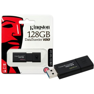 Kingston 128Gb USB 3.0 DataTraveler 100