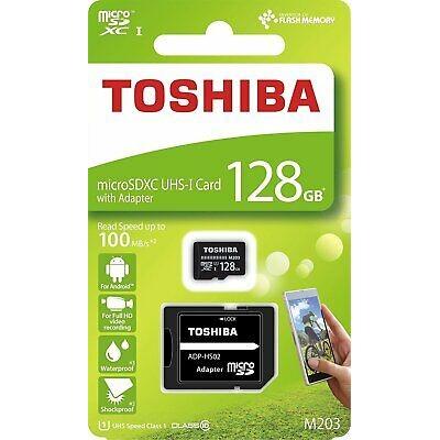Toshiba 128Gb MicroSD UHS-I C10