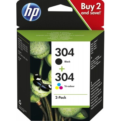 HP 304 Pack Negro + Color