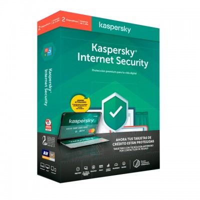 Kaspersky Internet Security, 2 dispositivos