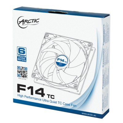 Artic F14 TC 140mm Temp. Controlled Fan