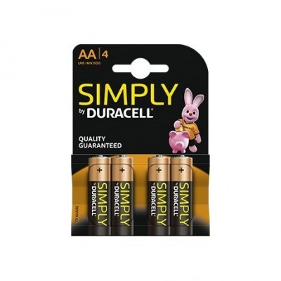 Duracell AA 4Ud Simply
