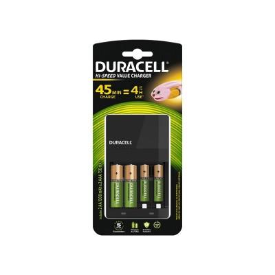 Duracell Cargador Rápido + 2AA +2AAA