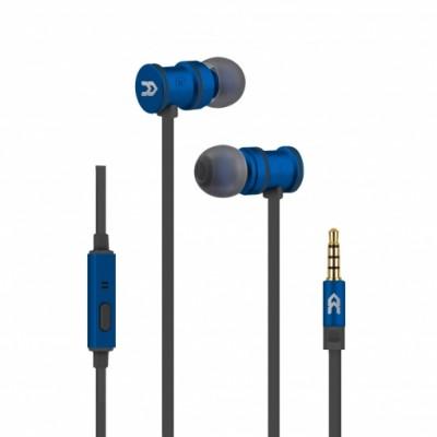 Avenzo Auriculares in-ear con Micrófono Azul