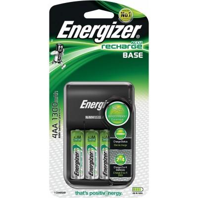 Energizer Cargador Pilas AA/AAA +4 AA 1300mAh