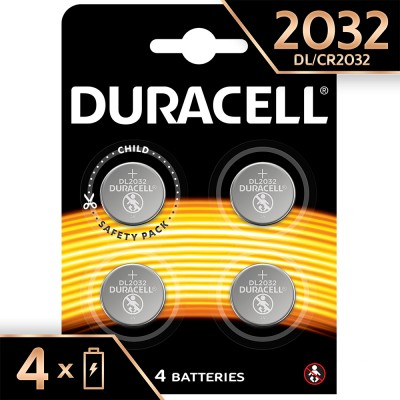 Duracell CR2032 4Ud