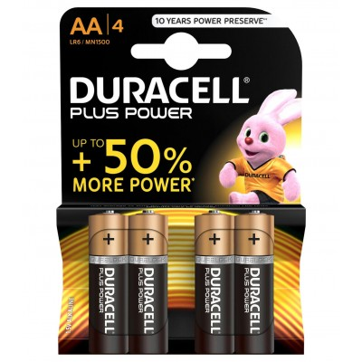 Duracell AA 4Ud Plus