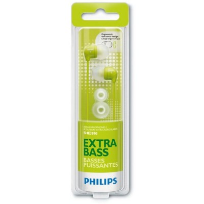 Philips SHE3590 Ariculares Verde In Ear