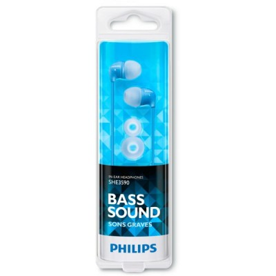 Philips SHE3590 Ariculares Azul In Ear