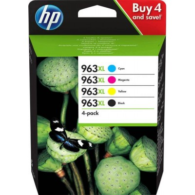 HP 963XL Pack Negro + Colores