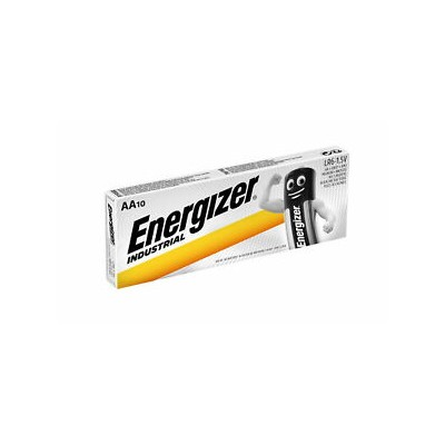 Energizer AA 1,5V Pack 10Ud Industrial