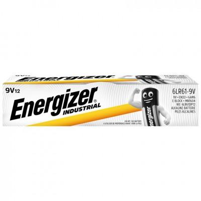 Energizer 9V LR61 1,5V Pack 12Ud Industrial