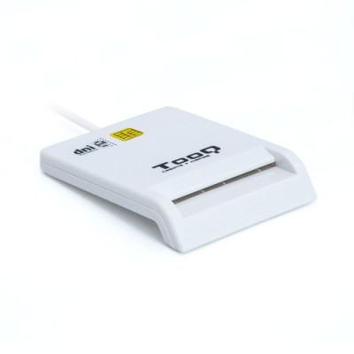Tooq Lector de DNI y Smart Cards Blanco