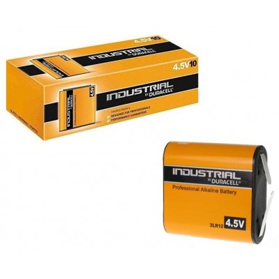 Duracell 3LR12 4,5V 10Ud Industrial Alcalino