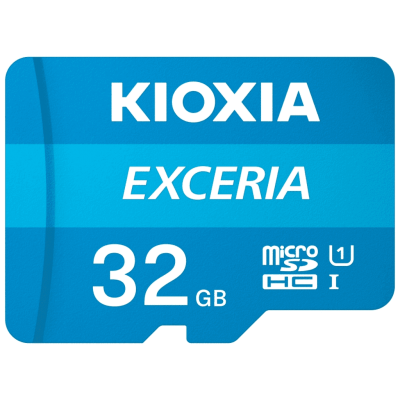 Kioxia 32Gb MicroSD UHS-I C10